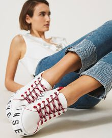 Sneakers con logotipo Blanco Mujer 202LIPZCC-0S