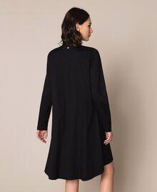 Поплиновое платье Черный женщина 201MP218G-03