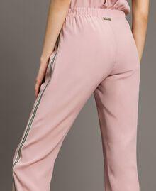 """Pantalon de jogging à paillettes Rose """"Pink Bouquet"""" Femme 191LB2LDD-04"""