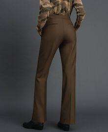 "Technical wool trousers ""Colonial"" Green Woman 192TT2450-01"