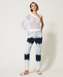 Jean slouchy tie & dye Denim Tie & Dye Femme 211MT211D-02
