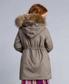 Parka aus Canvas Olive Kind GA82A1-03
