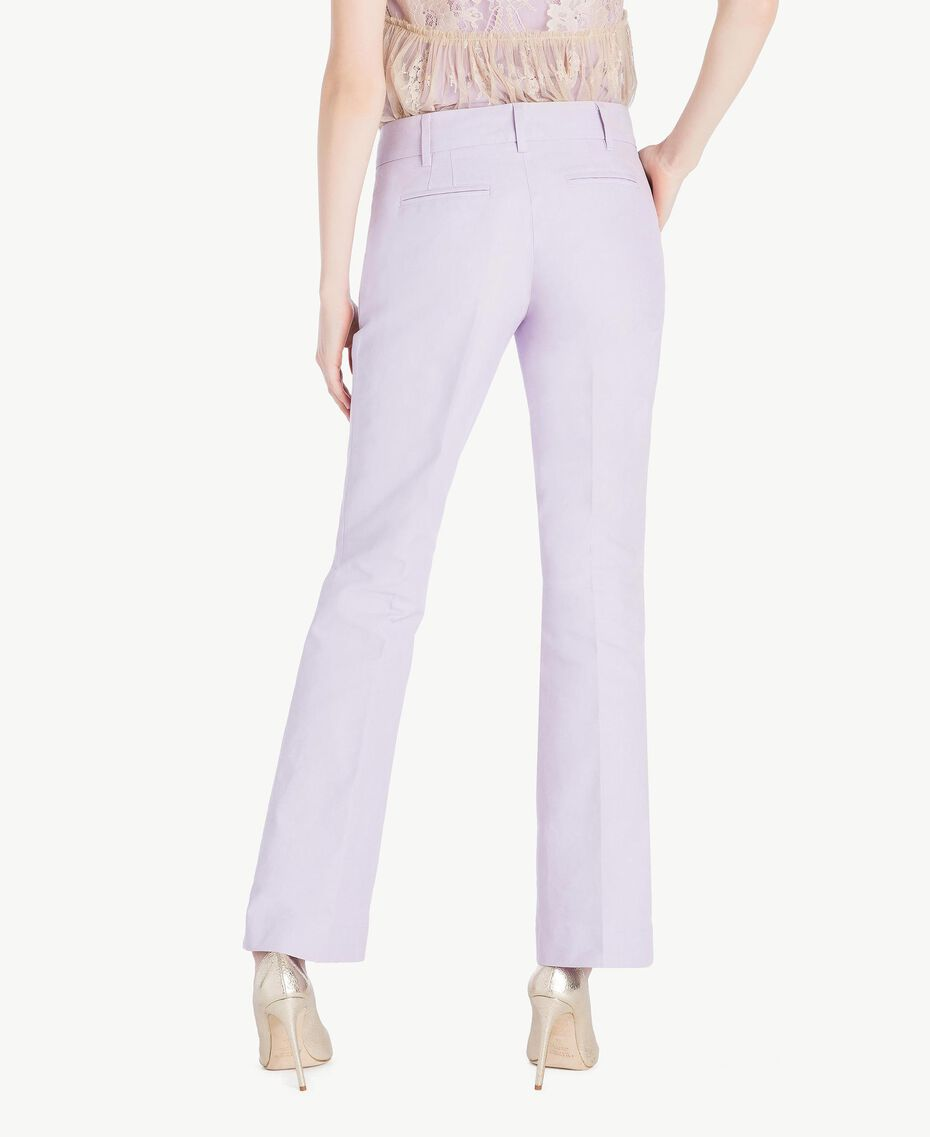 Pantalon toile Violet Femme PS824S-03