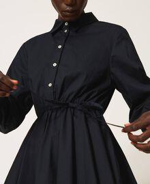 Blouse en popeline Noir Femme 202MP2062-06