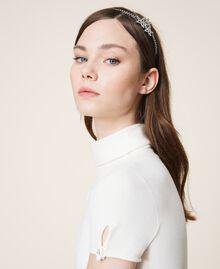 Headband with rhinestone stars Crystal Woman 202TA430G-0S