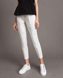 Leggings en popeline Off White Femme 191ST2043-04