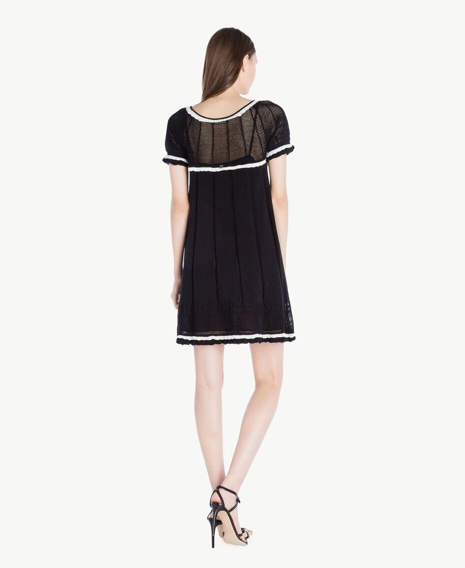 Cotton dress Black Woman TS83AN-03