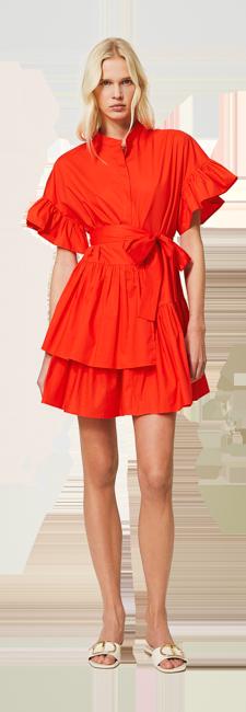 32-shop-by-look-robe-courte-rouge-volants-femme-printemps-ete-2021