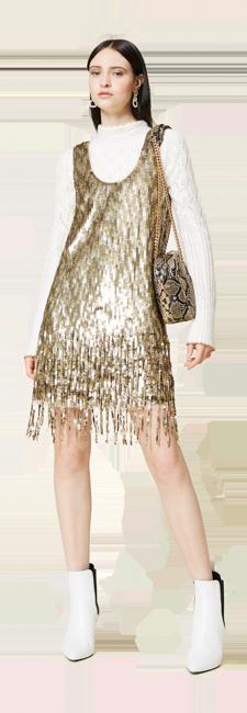 22-shop-by-look-abito-corto-oro-paillettes-frange-donna-autunno-inverno-2021