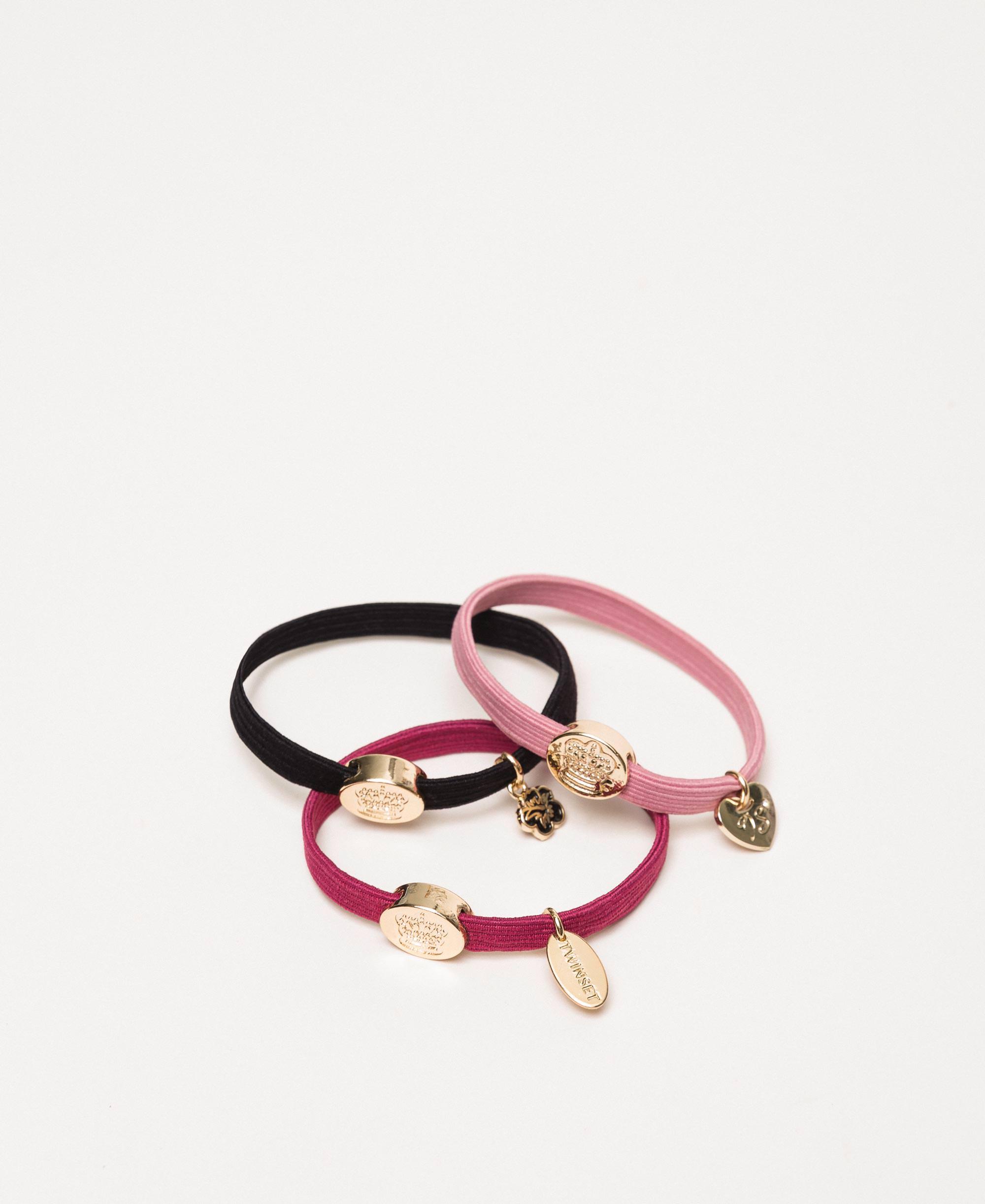 Ponytail Holder Bracelets With Logo